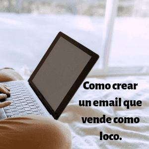 Como crear un email
