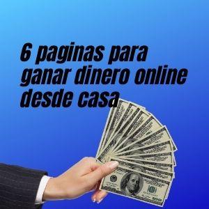 paginas para ganar dinero